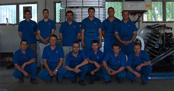 A Spec-Profil Kft. munkatársai