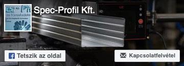 Spec-Profil Kft. a  Facebookon